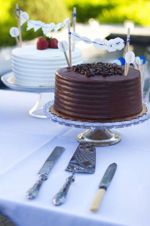 Olha esse topo de bolo, gente! *-*