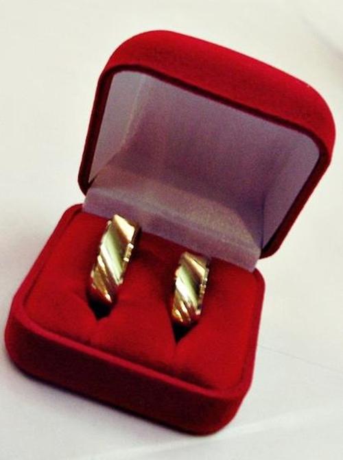 Essa é a minha aliança de noivado :)