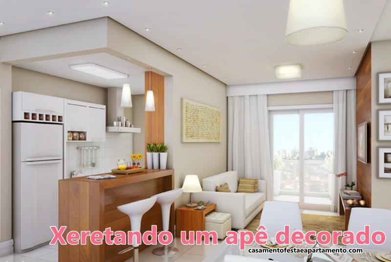Xeretando um ap decorado casamento festa e apartamento for Ver apartamentos pequenos