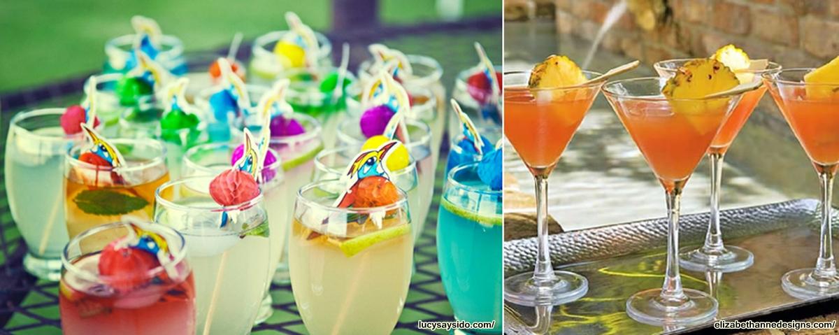 drinks coloridos